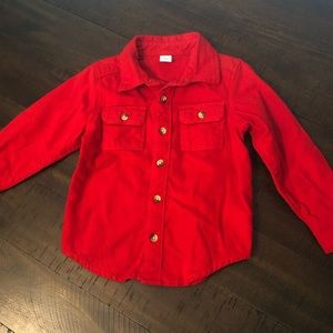 Toddler boy 3T long sleeve button up